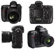 Nikon D3X FX 24MP DSLR камеры