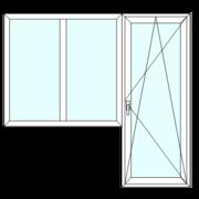 Блок балконный,  S8000 (74mm)-2070*2150