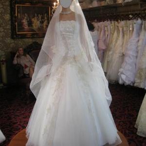 Великолепное свадебное платье в отличном состоянии