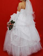 Продам свадебное платье размер 42-46