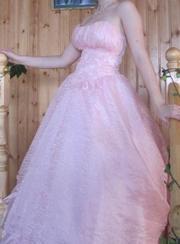 Продам очень красивое бальное платье!